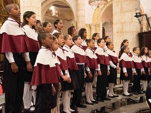 Coro de la Catedral Primada de América con su sección de Niños.