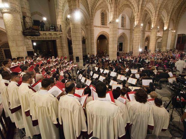 Coro de la Catedral Primada de América.