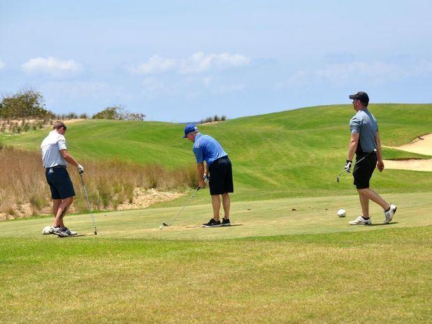 En el complejo de Bahía Príncipe Golf en Playa Nueva, recién bautizado como Ocean's 4, se darán citas reconocidos golfistas internacionales.