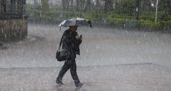 Vaguada generará lluvias en varias regiones del país al inicio de la semana