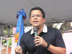 Alcalde David Collado.