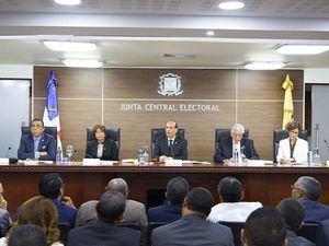 Pleno de la Junta Central Electoral.