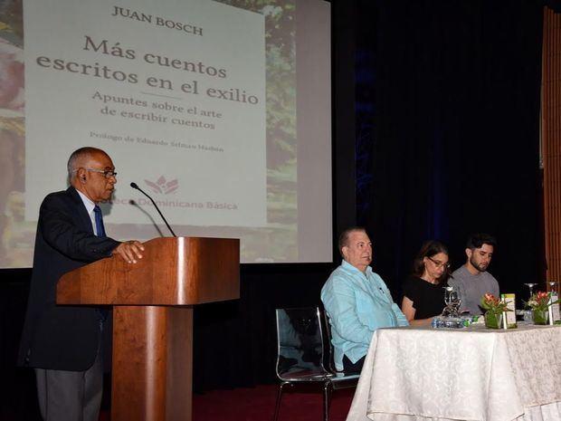 El ministro de Cultura presenta en la FILSD 2019 la colección de cuentos de Juan Bosch