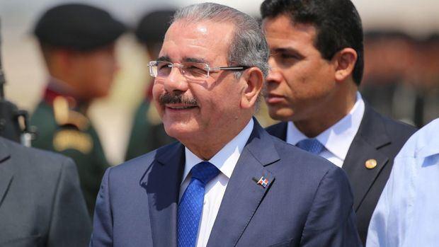 El presidente Danilo Medina .