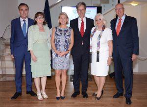 Joannes Hauser, Frauke Pfaff, Regine Pellet, Volker Pellet, Hiovanna Duckwitz y Edmund Duckwitz.