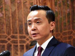 El embajador Zhang Run, dejó inaugurada la exposición permanente de China en el emblemático Museo Faro a Colón. (Foto:Cortesía).