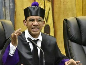 Juez Francisco Ortega en caso Odebrecht. (Foto:Fuente Externa).