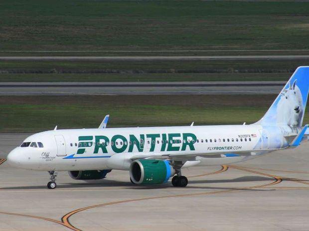 Frontier realiza vuelo inaugural Orlando, Florida - Punta Cana