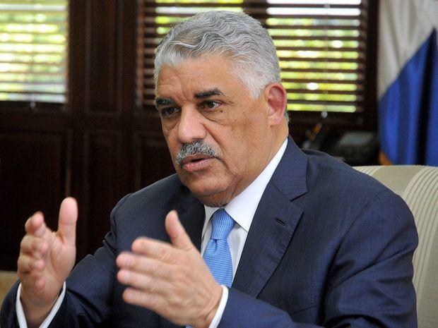 El secretario de Relaciones Exteriores de República Dominicana, ingeniero Miguel Vargas Maldonado. (Foto:Fuente Externa).