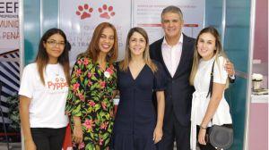 Nicole Cuevas, Marisol Fermin, Yessenia Attias, Ricardo Rizek y Jean Marie Rizek. (Foto:Cortesía).