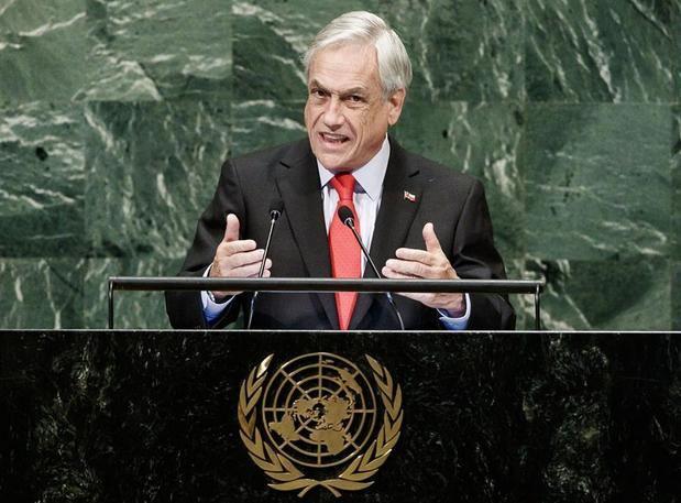 El presidente de Chile insta a la ONU a
