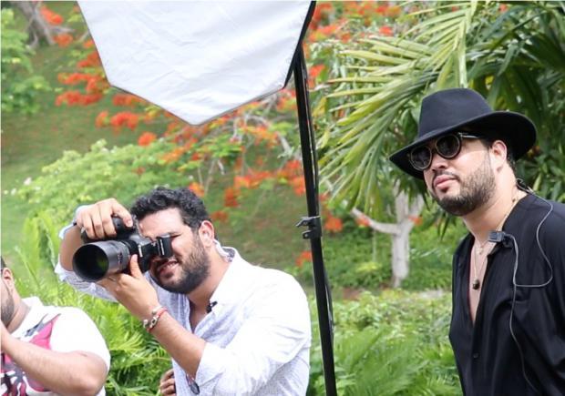 Robert Inoa, el fotógrafo de las celebridades