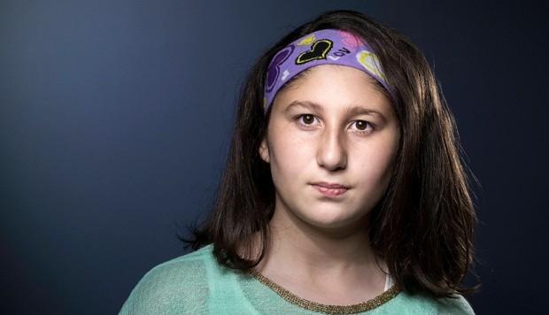 Myriam, la niña que creció en medio de la guerra siria y que encantó a Brasil