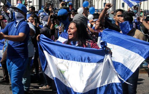 Ortega dice que hay 'factores externos' que no quieren la paz en Nicaragua
