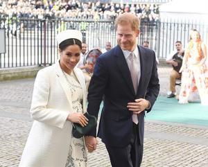El principe Enrique y Meghan Markle.