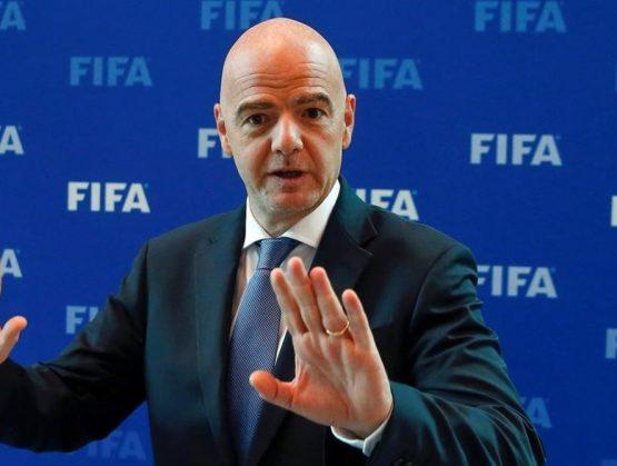 Presidente de la FIFA, Gianni Infantino.