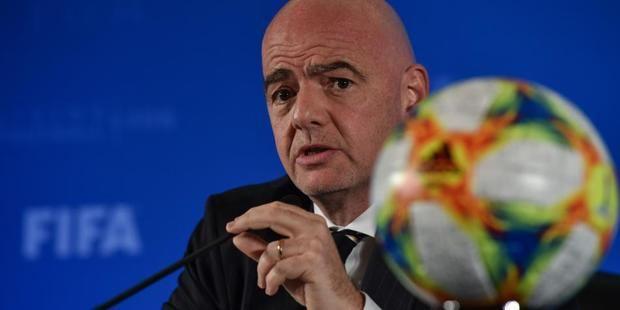 """Presidente de la FIFA, Gianni Infantino: """"La salud es lo primero"""""""