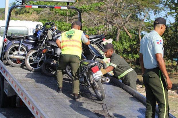 Digesett retiene 50 motocicletas modificadas para carreras clandestinas