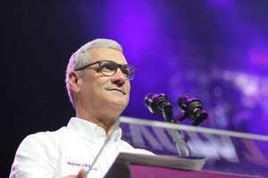 candidato a la Presidencia de la República por el Partido de la Liberación Dominicana, PLD, Gonzalo Castillo.