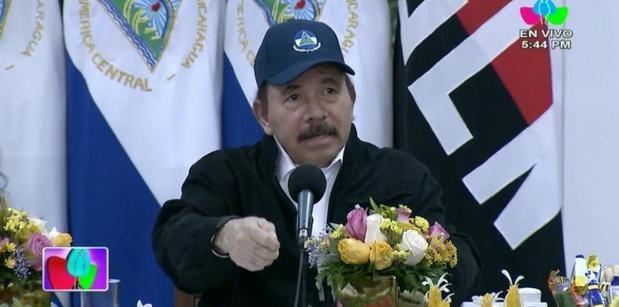 El presidente de Nicaragua, Daniel Ortega, reapareció este miércoles en televisión, tras 34 días sin dar la cara en público en medio la pandemia.