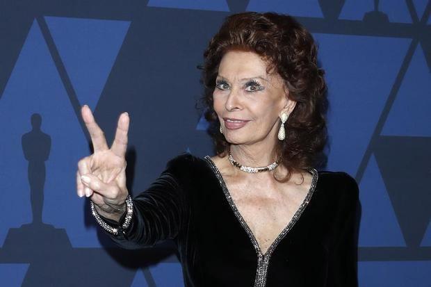 Sophia Loren y Favino, candidatos a los David di Donatello del cine italiano