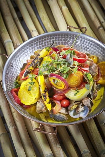 Imagen cedida por la editorial Planeta Gastro de la cocinera Najat Kaanache realizadas por Javier Peñas.