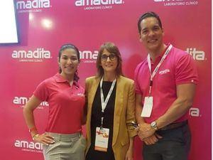 Mariom Di Mauro, Dra Ana Bianchi, Raul Abreu.