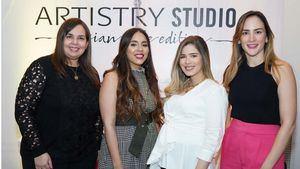Sarah Argomániz,  Yazmin Yeara, Marjorie Gónzalez,Yolanda Linares
