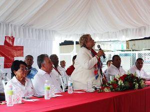 Día Mundial de la Cruz Roja y de la Media Luna Roja 2019, la Federación Internacional de Sociedades de la Cruz Roja y de la Media Luna Roja (FICR) celebra a los casi 14 millones de voluntarios de la Cruz Roja y de la Media Luna Roja de todo el mundo.