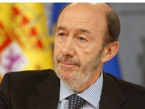 Falleció Alfredo Pérez Rubalcaba, ex vicepresidente del Gobierno de España.