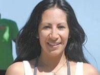 María Mensen presidenta de la Asociación de Triatlón de Gaspar Hernández.
