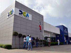 Fachada Administración DGA zona de Haina.