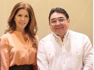 Stella León y Miguel Calzada.