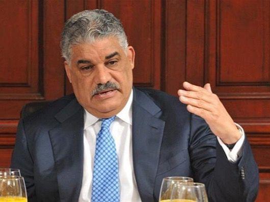 Presidente del Partido Revolucionario Dominicana (PRD) Miguel Vargas Maldonado.