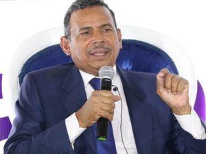 Aspirante presidencial por Partido de la Liberación Dominicana (PLD) Radhamés Segura.