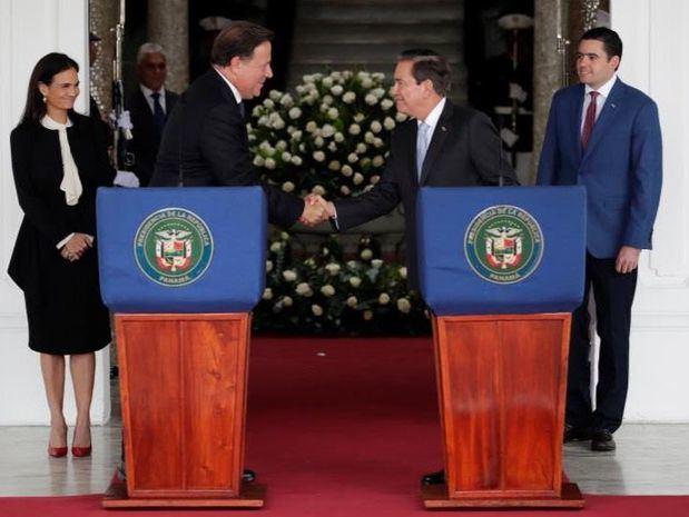 Seguridad y finanzas centran la reunión de transición presidencial en Panamá