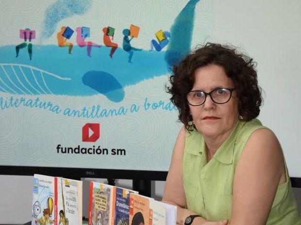 Directora de la Fundación SM en República Dominicana, Mónica Volonteri.