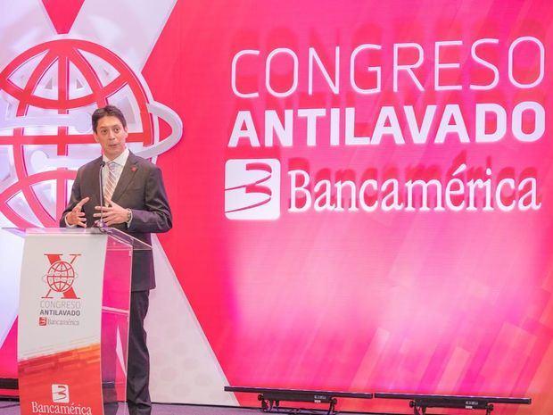 Juan Carlos Medina durante su discurso.