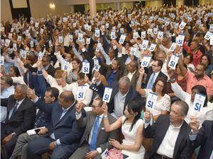 Asamblea del PRD.
