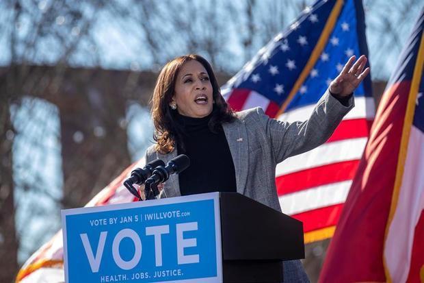 Kamala Harris jurará su cargo frente a la primera jueza hispana del Supremo