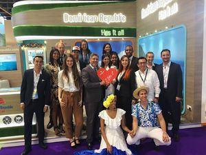República Dominicana, a través del Ministerio de Turismo (MITUR) participó feria turística Arabian Travel Market.