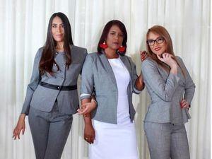 Diseños representan el estilo de vida de la mujer ejecutiva de hoy.