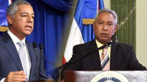 Ministro de Hacienda, Donald Guerrero y Ministro de Economía, Isidoro Santana.
