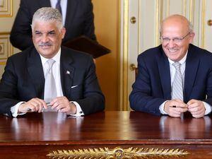 Miguel Vargas Maldonado y Augusto Santos Silva.