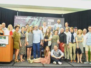 Participantes del Vigésimo Foro de Pioneros 2019.