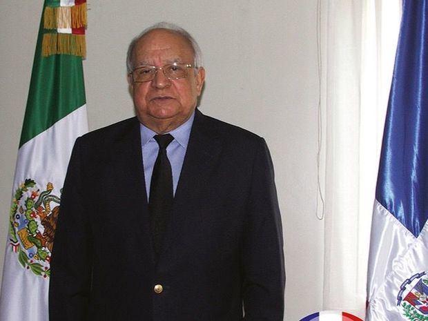 Muere el embajador dominicano en México, Alejandro González Pons