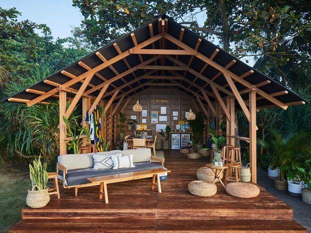 """Cerveza Corona inaugura """"La Casa"""" un espacio construido con plástico reciclado"""
