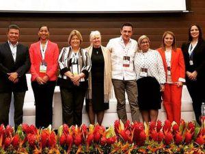 Participantes de la 5ta edición de la Cumbre de Cruceros de Centroamérica llevada a cabo en Costa Rica.