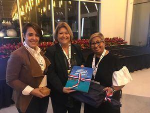 Directora de Cruceros del Ministerio de Turismo, Orfila Salazar