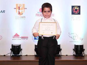 Mejor Actor infantil Diego Díaz Fuentes.